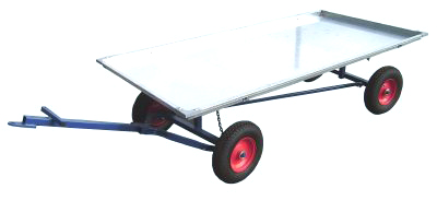 Economy Flat-Pack Self Tracking Trailer