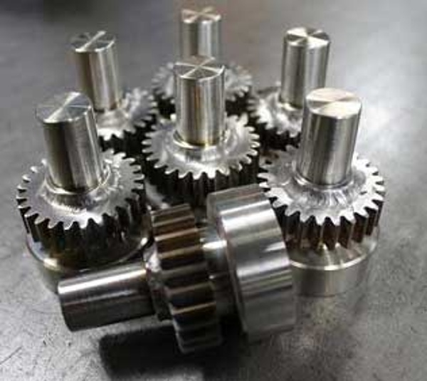 Spur_Gear_Welded_to_Stub_Shaft