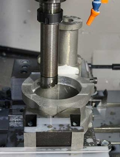 Aluminium_Casting_Machined_on_Machining_Centre