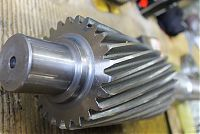 Helical Gear cut Pinion