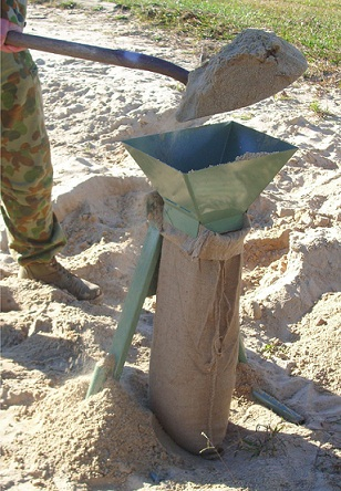Sand Bagging Frame