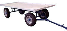 Deluxe Self Tracking Trailer