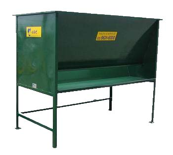 Potting Bench and Hopper