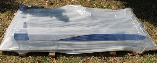 Kit Bulk Bagger Flat Packed ready for transport
