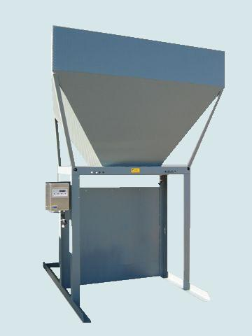 Bulk Bagger with Load Cells and Readout