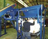 Bulk bag filling operation