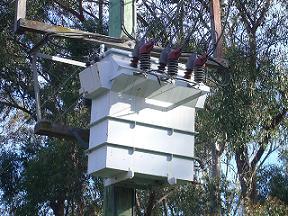 Transformer on Pole