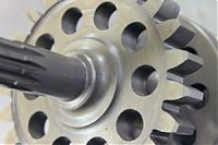 Spur Gear and splined shaft