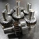 Spur Gears welded to stob shaft