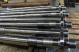Large Shafts turned on CNC Lathes