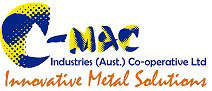C-Mac Logo with slogan  - Innovative Metal Solutions
